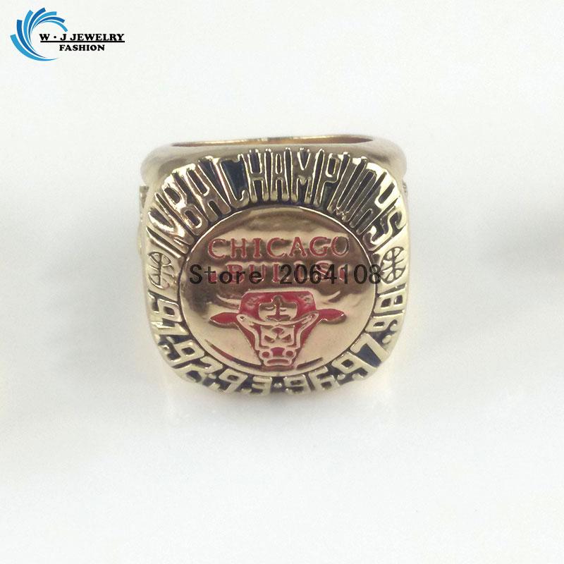 free shipping new store,no profit selling! Chicago 1998 Bulls basketball World Championship Ring Size 11(China (Mainland))