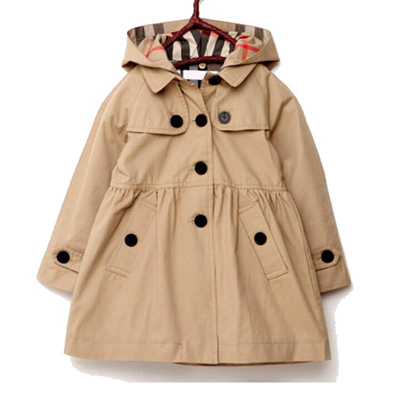 Jacket Girls coat winter Autumn children jackets for Girl Clothes Clothing kids trench coat baby girl windbreaker
