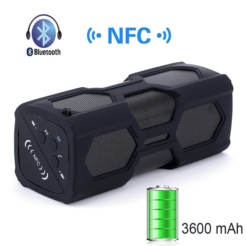 Аудио колонка LEMFO Bluetooth 4.0 Box NFC 3600mAh CCC-ACC-2238Z цена и фото