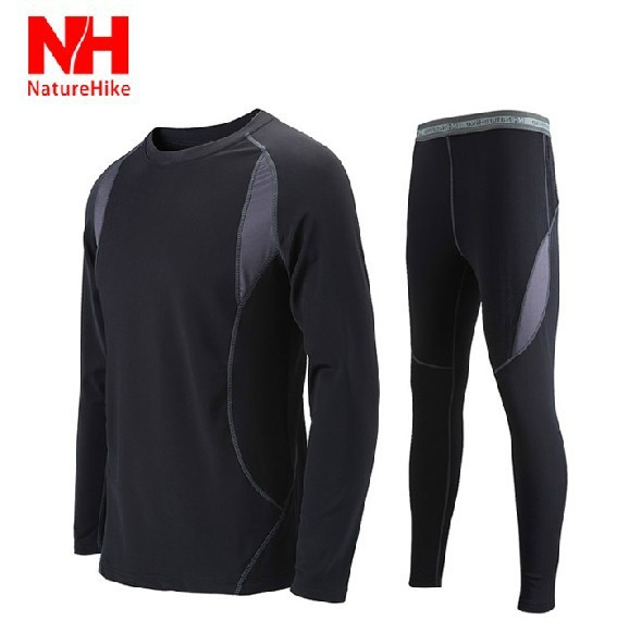 Men's Outdoor sport thermal underwear Hot-Dry technology surface NHHDM