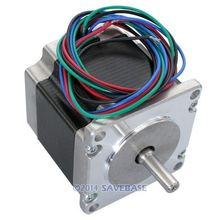 HOMSECUR CNC Router Lathe Nema 23 175 Oz-In Stepper Motor 2 Phase 2.8A 1.8 Degree 57x56mm(China (Mainland))
