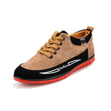 Special Offer Fashion Rubber Men Casual Shoes Lace-Up Autumn Winter Warm Add Wool Wear proof Flat With Canvas shoe free shipping(China (Mainland))