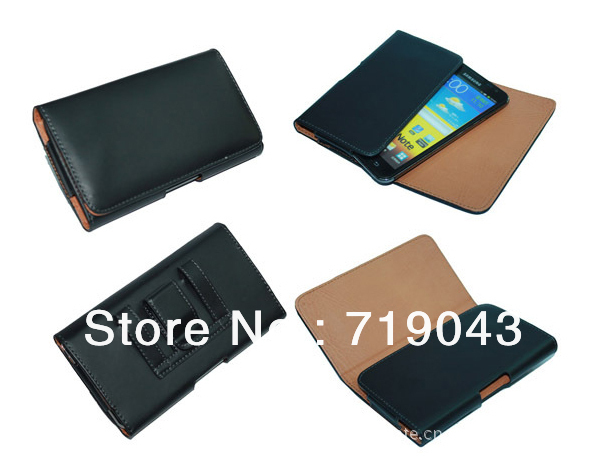 For PU Leather Pouch Leather Case Holster Cover for Lenovo p770 PU leather pouch, free shipping