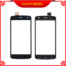 Free Tools Touch Screen For FLY IQ4503 4503 100% Original TP Black color Mobile Phone Touch Panel