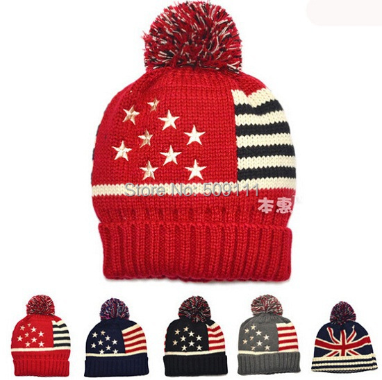 Baby Kids Infant Toddler Beanie Hat Warm Winter Boys Girls Knitted Cap Children Accessories Bonnet for 1-4 years 10pcs/lot H607<br><br>Aliexpress
