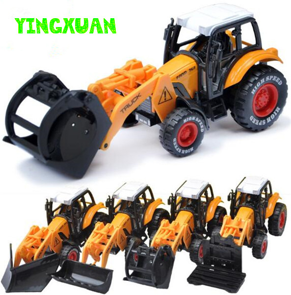 1:55 Alloy Utility Vehicle Toy Farmers Truck Model Pull back Children's Toys 15*6*5.5cm(China (Mainland))