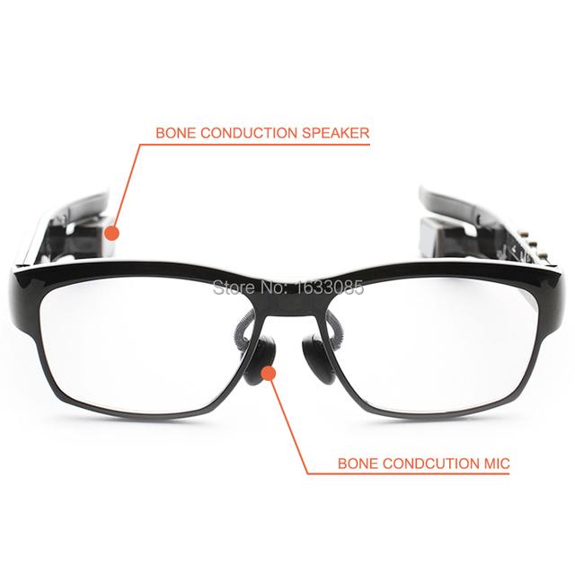 Bone conduction headphones glasses bluetooth - bluetooth headphones glasses