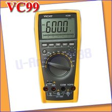 Vichy VC99 3 6/7 Multimeter analog bar C F better FLUKE 17B+free shipping
