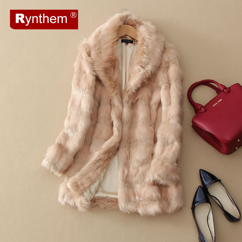 Women Faux Fur Coat Jacket Winter Fur Coat Female Black Long Style Thick 2015 Autumn & Winter Wide-Waisted Long Sleeves Fur Coat(China (Mainland))