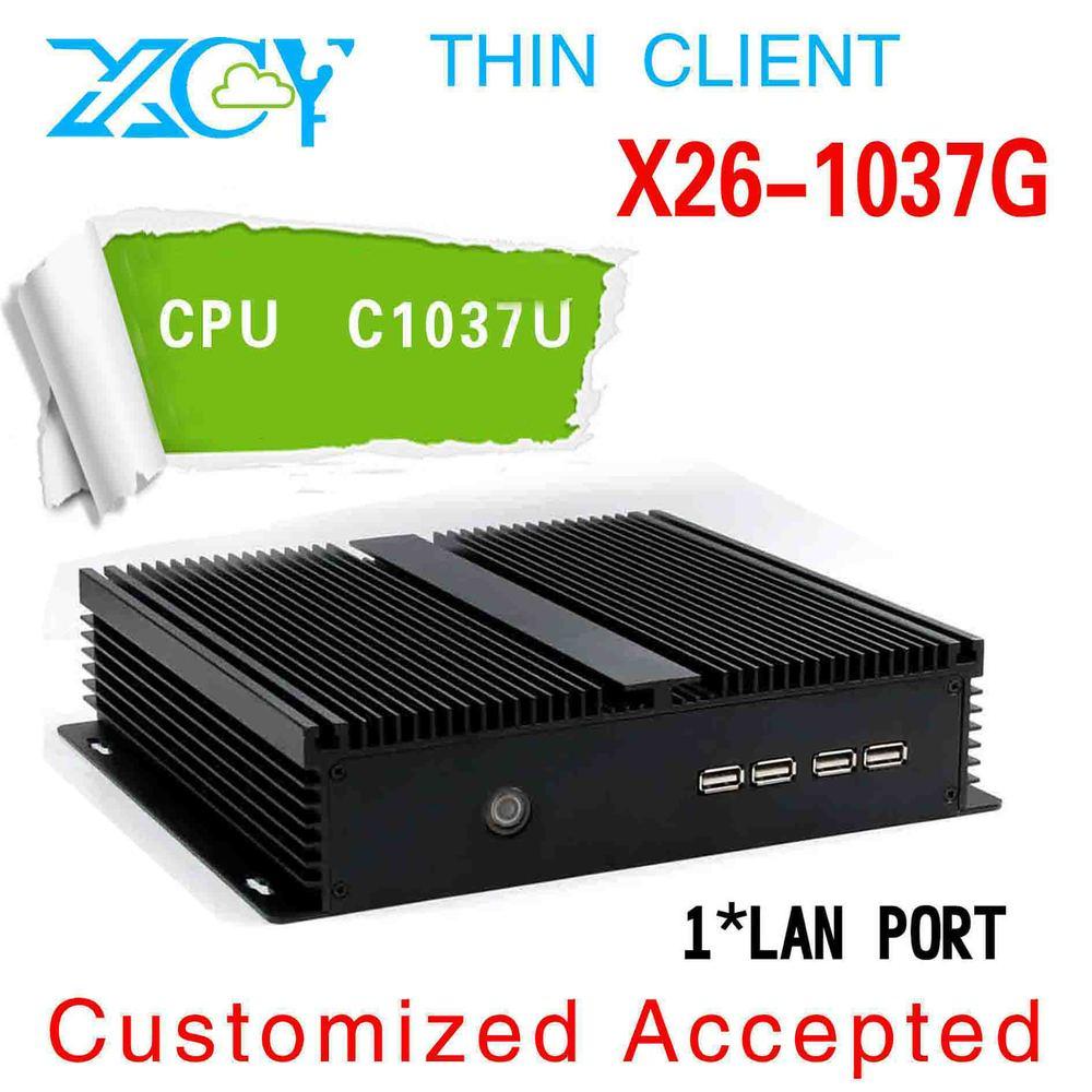 Mini pc desktop cpu 1037u tablet pc minipc X26-1037G support HDMI + VGA synchronous display output(China (Mainland))