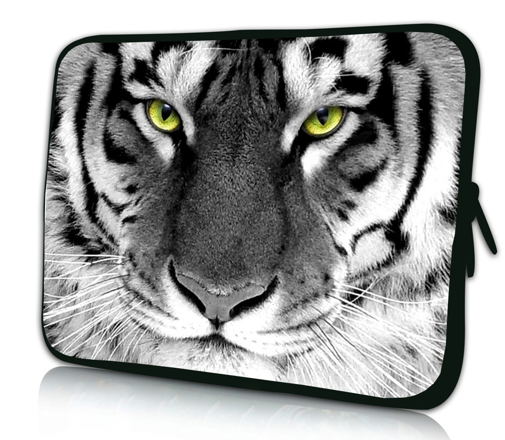 7'' 7.9 8.1 White Tiger Tablet Sleeve Bag Mini Netbook Laptop Cases Cover Pouch For Samsung Galaxy Tab 8 4 For Asus Fonepad 7