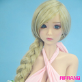 Rifrano 135cm real silicone sex doll full silicone artificial vagina lifelike Japanese cute girl for adult
