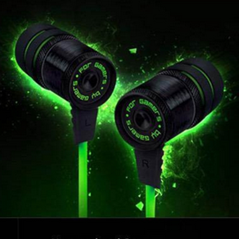 Nueva Razer Hammerhead Pro Gaming Headset in-ear Earphone without Microphone Game earbuds Noise Cancelling earphones Ear bud(China (Mainland))
