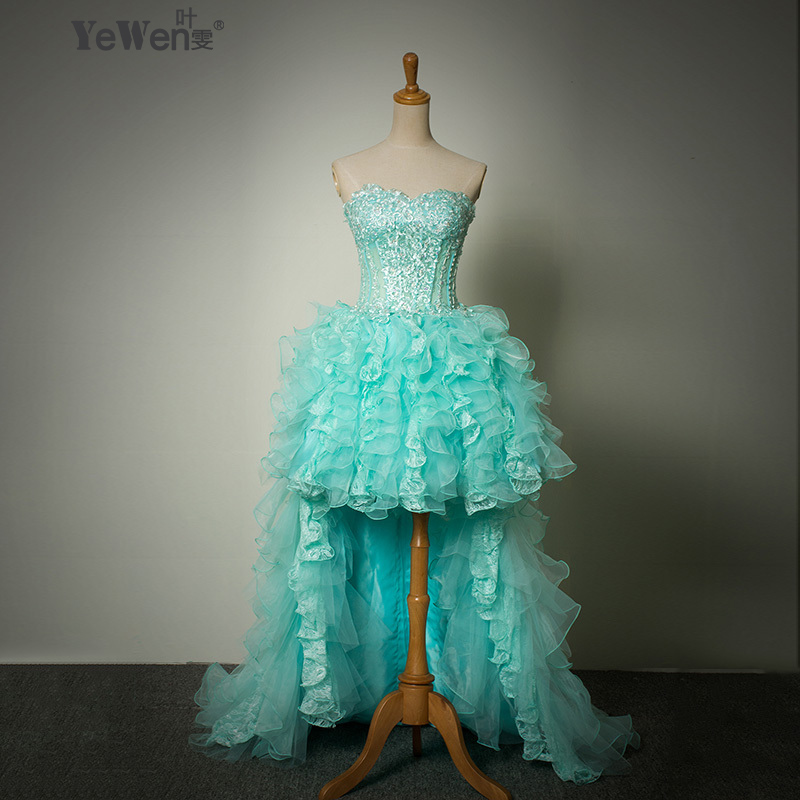 New arrival top selling beach sexy hi lo lace front short for Simple elegant short wedding dresses