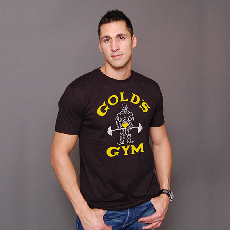 Buy gym famous brand golds gym fitness for Dress shirts for bodybuilders