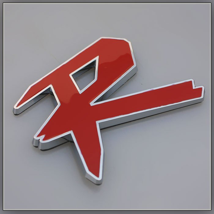 New arrive Car decoration emblem refires r car stickers 3d stereo car stickers(China (Mainland))