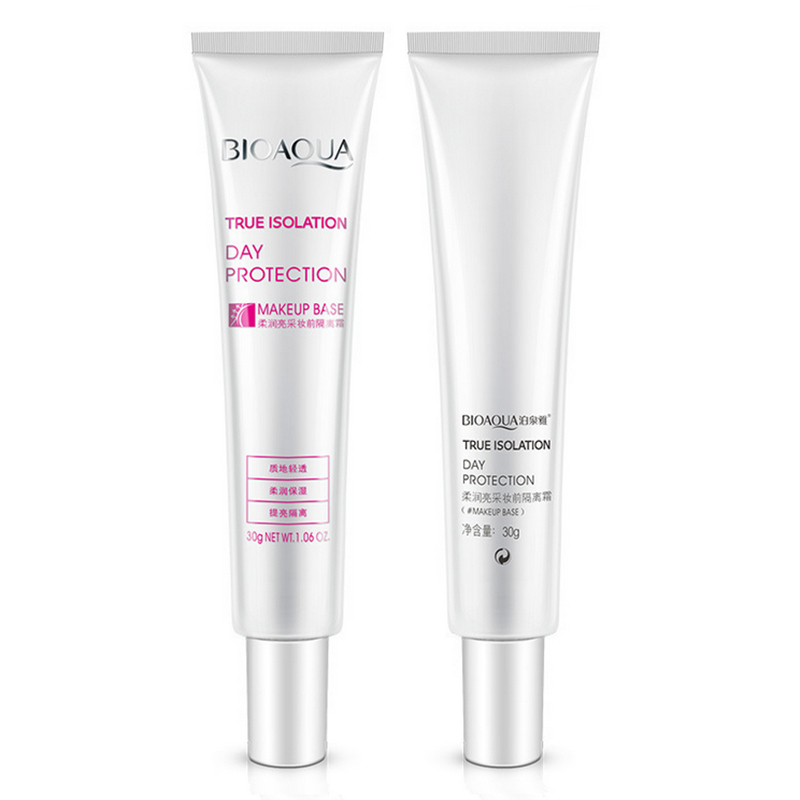 2pcs 30ML Women Brand Professional Face Primer Makeup Base Liquid Foundation Oil-control Moisturizing Whitening Concealer Primer(Hong Kong)
