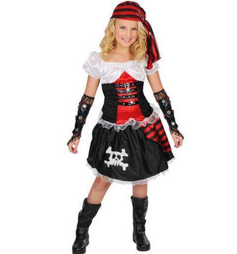 Платье пиратки для девочки
