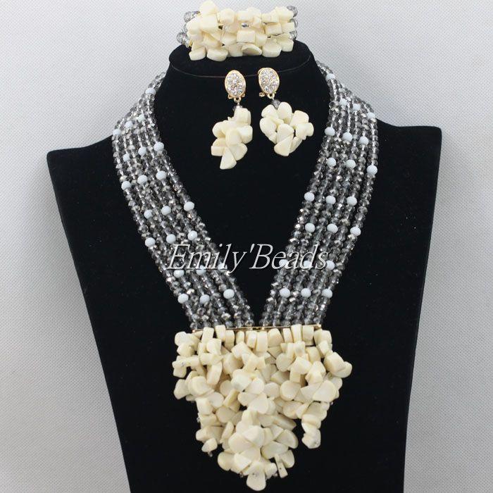 women fashion costume jewelry nigerian wedding african beads jewelry