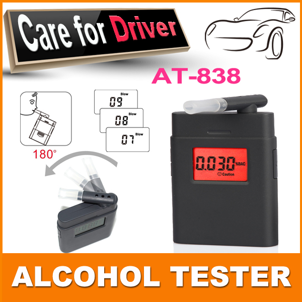Fashion high accuracy mini Alcohol Tester,breathalyzer ,alcometer ,Alcotest remind driver safety in roadway diagnostic tool(China (Mainland))