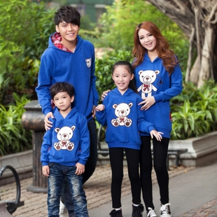 2013 spring and autumn family fashion family set family pack mother and son long-sleeve sweatshirt outerwear