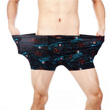 Fashion Underwear Men Boxers Underpants Sexy Print Man'S Pants For Men Cuecas Boxer Shorts Man Masculinas Calzoncillos 5XL 6XL(China (Mainland))
