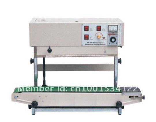 Free shipping,High quanlity FR-900V Vertical heat sealer,plastic bag sealing machine for liquid or paste package(China (Mainland))
