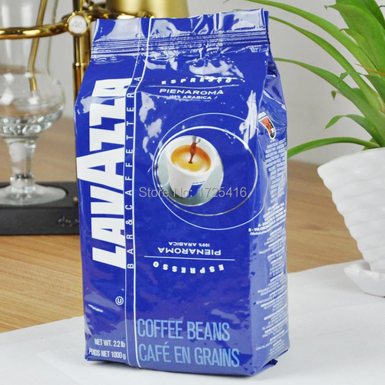 LAVAZZA Lavasa beans imported Italian espresso mellow blue card PIENAROMA 1kg free shipping