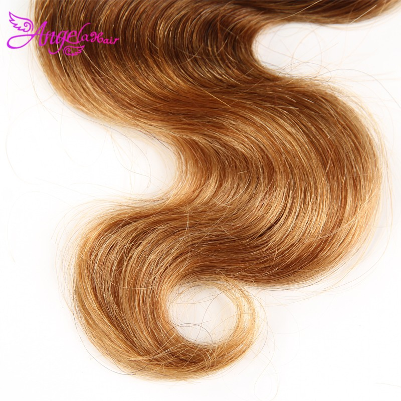 4 Bundles 1B 4 27 Ombre Brazilian Virgin Hair Body wave Ombre Human Hair Rosa Hair Products Blonde Color Ombre Hair Extensions