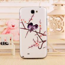 Sacos & Casos de Telefone Capa para Samsung Case para Galaxy 3D Pintado Porta Substituição Galaxy Note 2 N7100