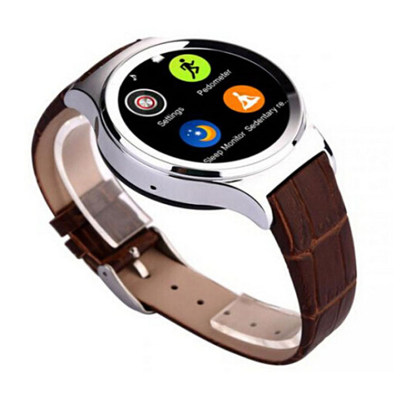 """NO.1 S3 Smart watch phone 1.22"""" Touchscreen MT2502 GSM Bluetooth Pedometer Sleep Monitor Anti-Lost Android system and IOS system(China (Mainland))"""