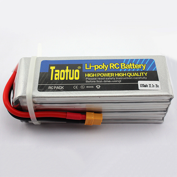 Lithium Lipo Battery 22.2V 5200mah 6S 40C XT60 T Plug For RC Helicopter Quadcopter Car Airplane Drone Toy Parts Bateria Lipo(China (Mainland))