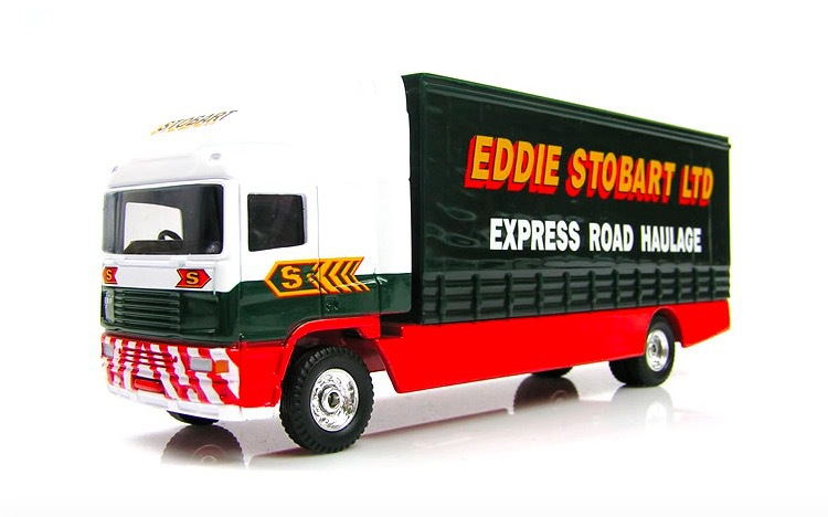 "16cm/6.3"" Car Styling Metal Car Die Cast Express Truck Scale Model Kid Toy Best Gift Collection(China (Mainland))"