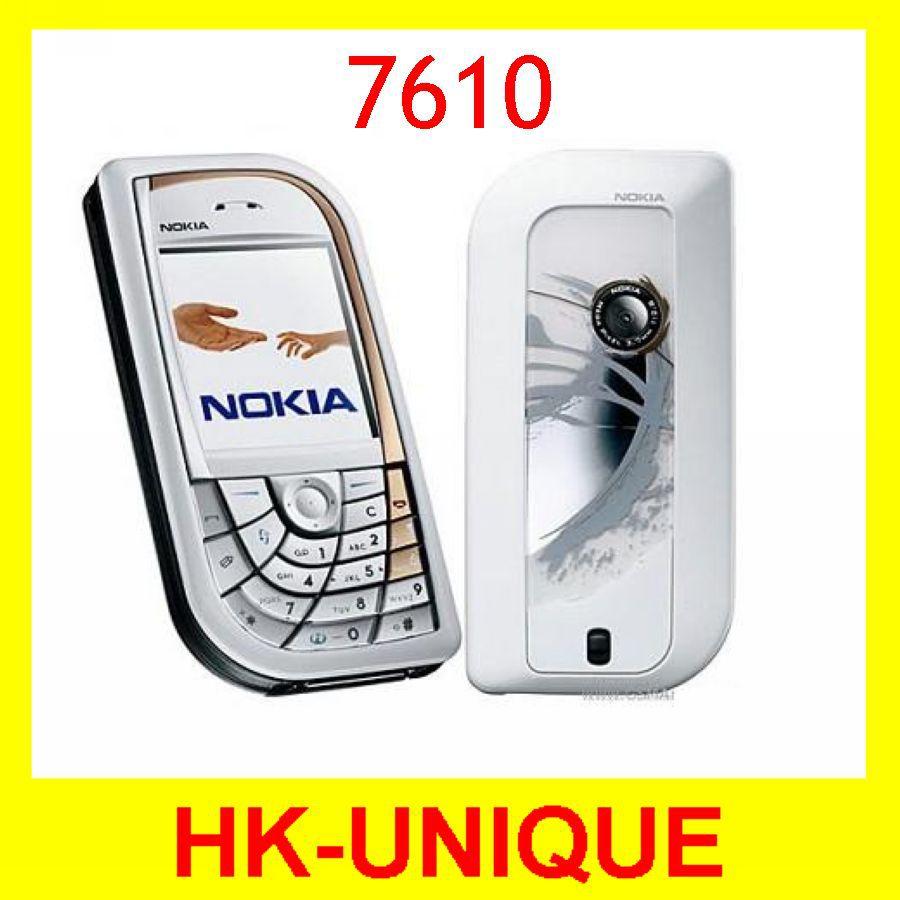 Original Unlocked Nokia 7610 GSM Tri-Band Camera Bluetooth Russian Language Mobile Phone Free Shipping(China (Mainland))