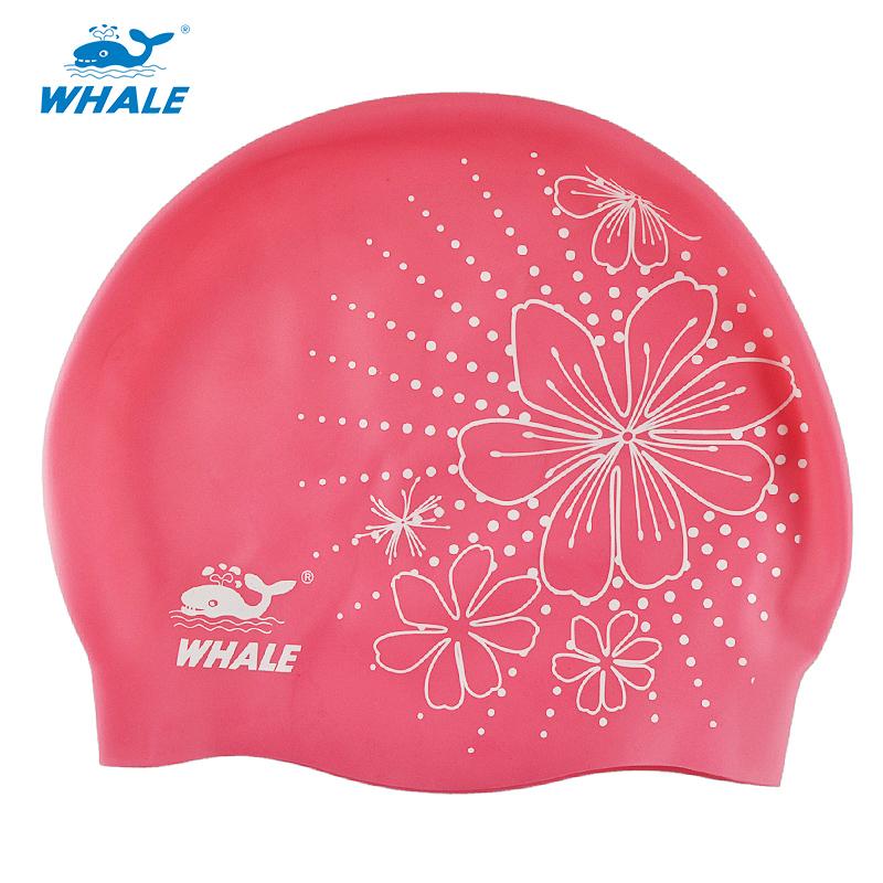 Whale New Coming Summer Silicone Swim Caps CAP-500(China (Mainland))
