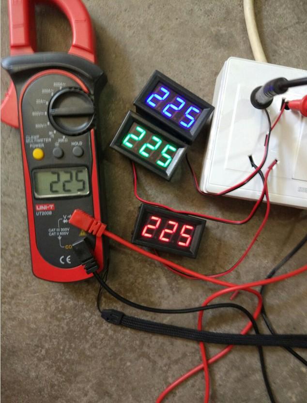 Вольтметр на 220 вольт