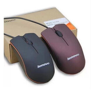 Lenovo M20 Wired Mouse USB 2.0 Pro Gaming Mouse Optical Mice For Computer PC High Quality(China (Mainland))