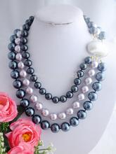 W-1034 New Amazing African Wedding Beads,Mother Of  Pearl  Necklace(China (Mainland))