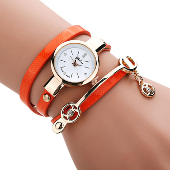 Watch with Thin Triple Strap