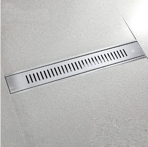 """Free Shipping (60x10cm 24"""") Stainless Steel Floor Drain"""