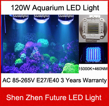 2014 Limited Real 1pcs/lot 120w 120degree Use Widely Hang for Fish Live In Tank Professional Led Aquarium Light free Shipping(China (Mainland))