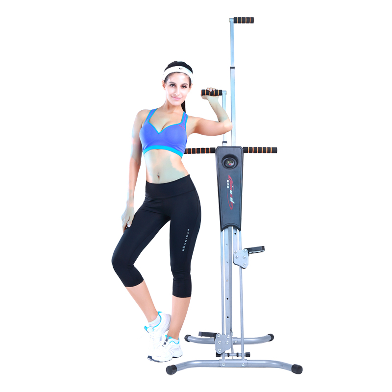 Stepper climbing stairs climber machine
