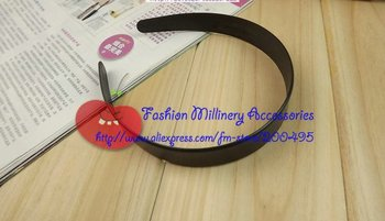 "Free Shipping Cheap 2cm(3/4"") DIY Plastic Headband 50pcs/lot"