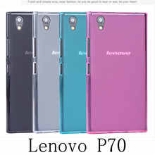 For Lenovo P70 Case Frosted Rubber Shield Cover TPU Cover Clear Soft Gel Silicone Case Protector(China (Mainland))