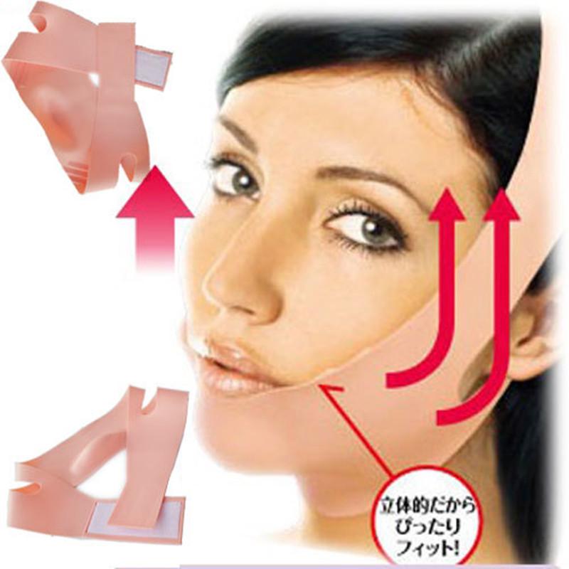 Hot Selling FB04 Medical Silicone Thin Face Mask Slimming Facial Bandage Cogit Massage Double Chin Skin Care Anti Wrinkle Belt(China (Mainland))