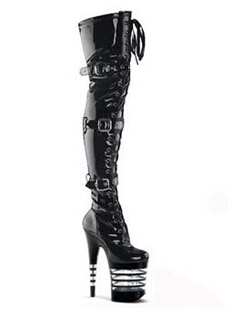 popular thigh high boots 3 inch heel buy cheap thigh high
