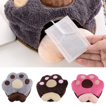 High Quality USB Warm Hand Warmer Paws Mouse Pad Mat with Wrist Rest Hot Promotion(China (Mainland))