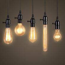 Buy 40W Vintage Edison Holiday Lights Filament Lamp 220V Antique Incandescent Light Bulbs Lampada Ball Bubble Light Pendant Lamp for $1.33 in AliExpress store