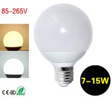 360 Emitting Led Bulb E27 7W 9W 12W 15W Globe Light A60 A70 A80 A90 Bombillas Led Lamps 110v 220v LED Light for Home Lighting(China (Mainland))