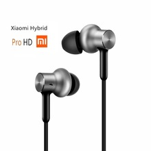 Newest Original Xiaomi Hybrid Pro HD In Stock Earphone with Mic Remote Headset for Xiaomi Redmi Red Mi Mobile Phone In-Ear(China (Mainland))